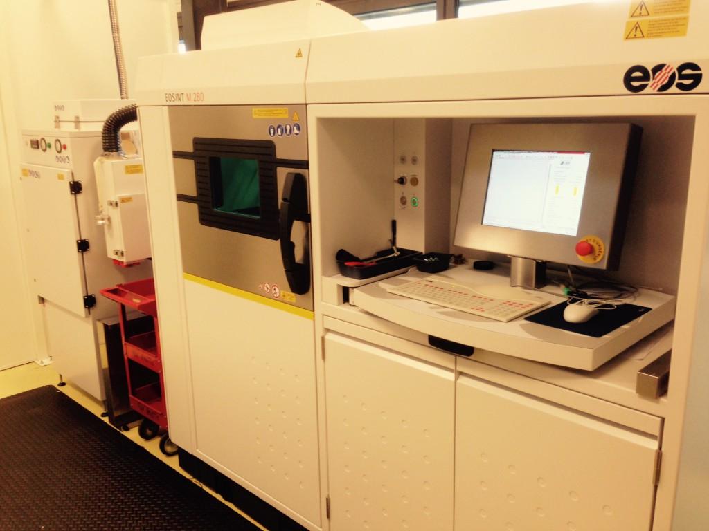 Nos moyens - Eosint M280 - Direct Metal Laser Sintering